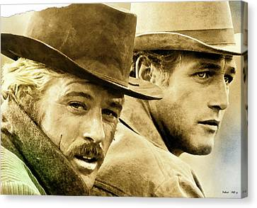 Butch Cassidy And The Sundance Kid     Canvas Print