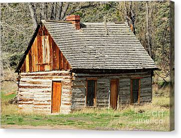 Butch Cassidy's Family Homestead Canvas Print by Dennis Hammer