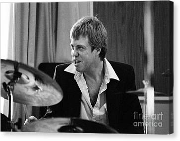 Butch Miles, Jazz Drummer Canvas Print