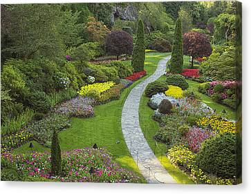 Butchart Gardens Canvas Print by Eunice Gibb