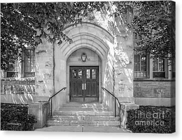 Butler University Doorway Canvas Print by University Icons