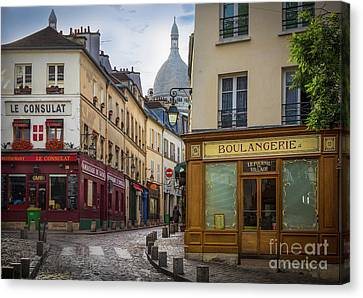 Butte De Montmartre Canvas Print