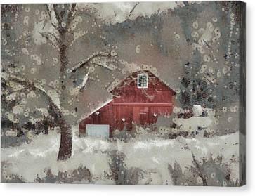 Butter Lane Canvas Print by Trish Tritz
