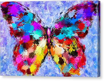 Butterfly 2 Canvas Print by Yury Malkov