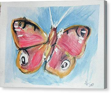 Butterfly 3 Canvas Print by Loretta Nash