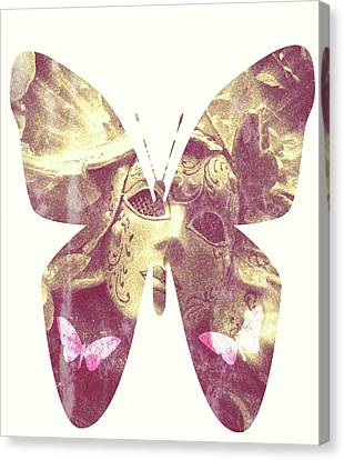 Butterfly Angel Canvas Print