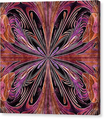 Butterfly Art Nouveau Canvas Print