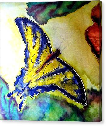 Butterfly Canvas Print by Beverly Johnson