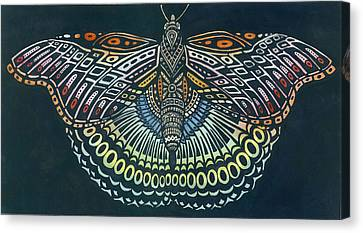 Butterfly Bits Canvas Print by Anne Havard