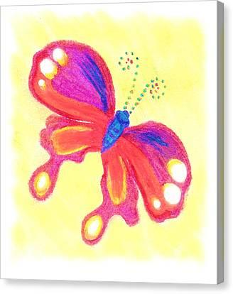 Butterfly Canvas Print by Chandelle Hazen