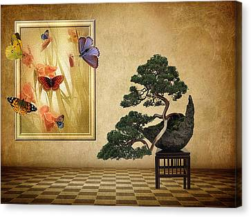 Butterfly Collection Canvas Print by Jessica Jenney