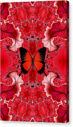 Butterfly Dream Phone Case Canvas Print