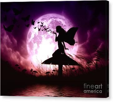 Butterfly Keeper Canvas Print by Julie Fain