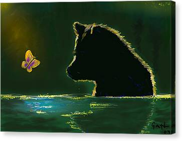 Butterfly Lullaby Canvas Print