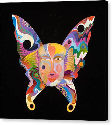 Butterfly Mask Canvas Print by Bob Coonts