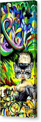 Butterfly Masquerade Canvas Print