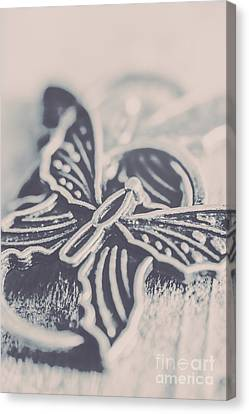 Butterfly Shaped Charm Canvas Print by Jorgo Photography - Wall Art Gallery