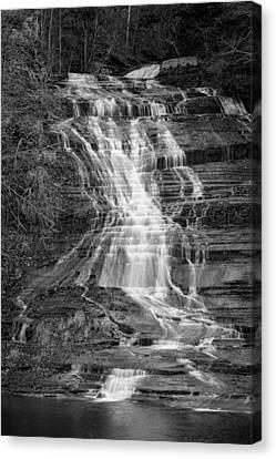 Buttermilk Falls #2 Canvas Print by Stephen Stookey