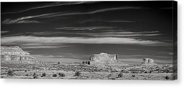 Buttes Of Moab Canvas Print by Jon Glaser