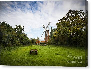 Buttrums Mill Canvas Print by Svetlana Sewell