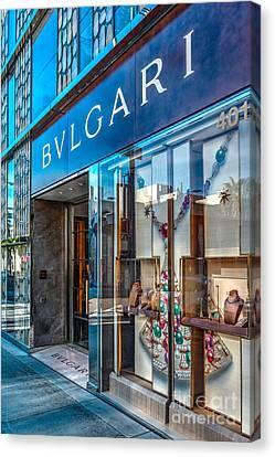 Bvlgari Beverly Hills Canvas Print by David Zanzinger