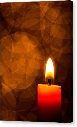 By Candle Light Canvas Print