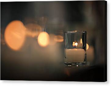 By Candlelight Canvas Print by Rick Berk