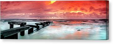By-gone Remnants Canvas Print by Sean Davey