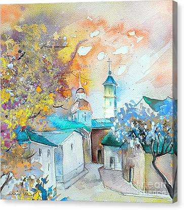 By Teruel Spain 03 Canvas Print by Miki De Goodaboom
