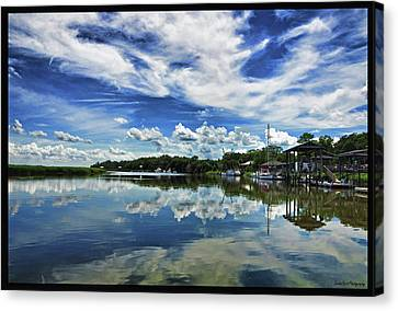 By The Still River Canvas Print