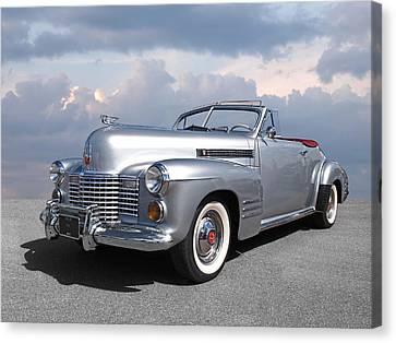 Bygone Era - 1941 Cadillac Convertible Canvas Print by Gill Billington