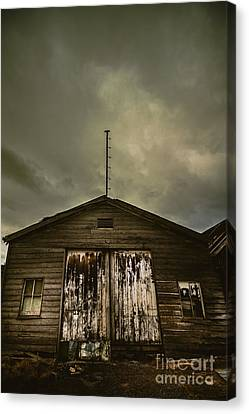 Bygone Farmstead  Canvas Print by Jorgo Photography - Wall Art Gallery