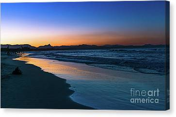 Byron Bay After The Sun Sets Canvas Print