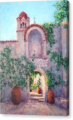 Byzantine Archway Canvas Print by Jill Musser