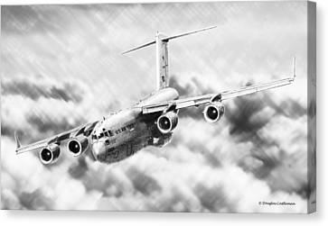 C-17 Canvas Print