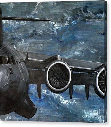 C-17 Globemaster IIi- Panel 3 Canvas Print