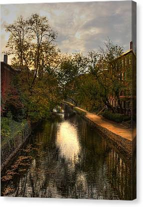 C And O Canal Canvas Print