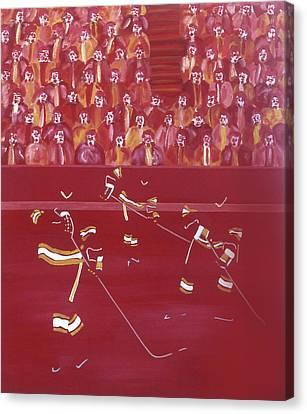 C F Canvas Print by Ken Yackel