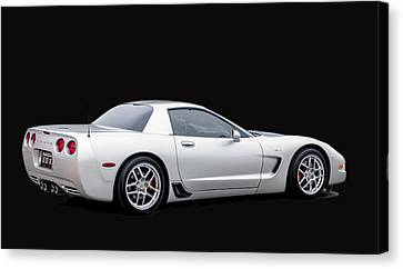 C6 Corvette Canvas Print