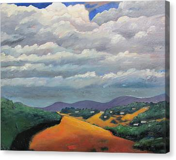 Ca Cloudscape Canvas Print by Gary Coleman
