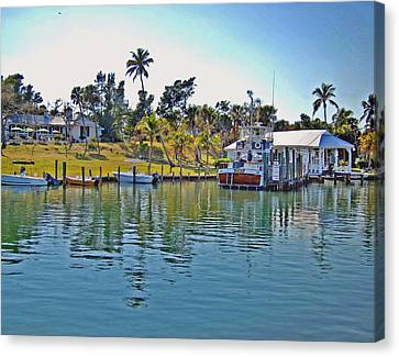 Cabbage Key Canvas Print