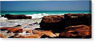 Cable Beach Broome Canvas Print by Phill Petrovic