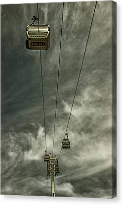 Cable Car Canvas Print by Martin Newman