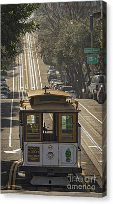 Cable Car Number 6 Canvas Print