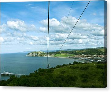 Cable Lift Canvas Print by Svetlana Sewell