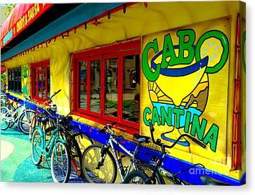 Cabo Cantina - Balboa Canvas Print by Jim Carrell