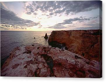 Puerto Rico Canvas Print - Cabo Rojo Sunset by George Oze