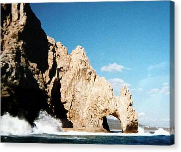 Cabo San Lucas Arch Canvas Print by Will Borden