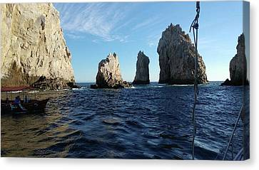 Cabo St Lucas Canvas Print by Edith FRIEDRICHS