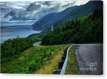 Cabot Trail Canvas Print by Joe  Ng